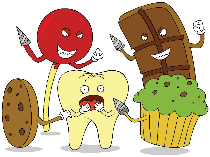 Worst sweets for your teeth