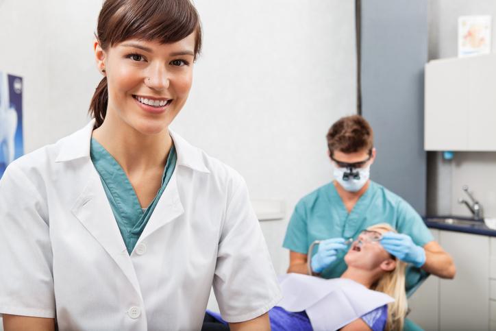 intra oral dental assistant